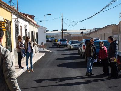 Finalizada la rehabilitación de otra media docena de calles del Plan de Obras y Servicios (POS) de Archena