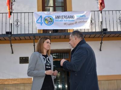 La Alcaldesa y el Presidente del Sindicato deRegantesTajo-Segura dan inicio al programa de actos del 40 Aniversario del Trasvase Tajo-Segura