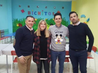 Inauguración de un nuevo establecimiento de ocio infantil
