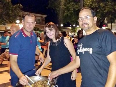 Comenzaron las fiestas del Barrio de la Providencia en honor a la Virgen del Carmen