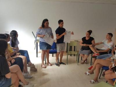 Presentación del Concurso deEmprendedores organizado por la EOI y el Ayuntamiento de Archena