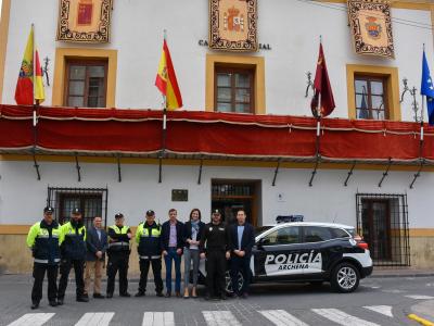 La Policía Local de Archena estrena nuevo vehículo patrulla equipado con lo último en nuevas tecnologías