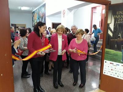 La edil de política social y mayores inaugura la XXIX Semana de la Mujer, con la exposición