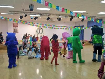 El gran fin de semana del Carnaval de Archenaha empezado hoy con la fiesta carnavalera infantil