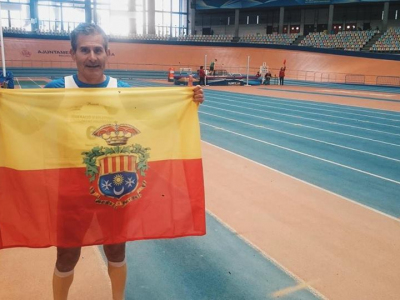 El atleta archenero Florencio Martínez representará a España en el Campeonato del Mundo Máster de Atletismo