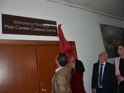 Homenaje póstumo a Mari Carmen Campoy García, maestra y fundadora del grupo folclórico Verderol Coros y Danzas