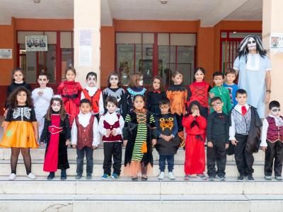 Fiesta de Hallowen en el Colegio Publico Emilio Candel