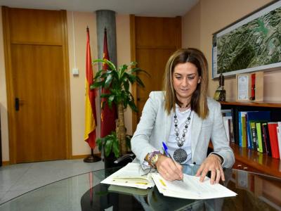 La alcaldesa suscribe el acuerdo de financiación para la realización de distintos proyectos de renovación urbana en Archena