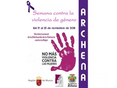 Desde hoy lunes 19 de noviembre y hasta el próximo domingo, 25 de noviembre, Archenacelebra la Semana contra la Violencia de Género