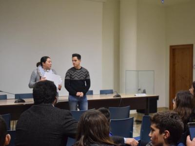 Entrega de premios concurso de microrelatos