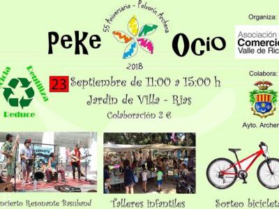 Actividades de la Asociación de Comercio Valle de Ricoteprogramadas para el próximo domingo 23 de septiembre