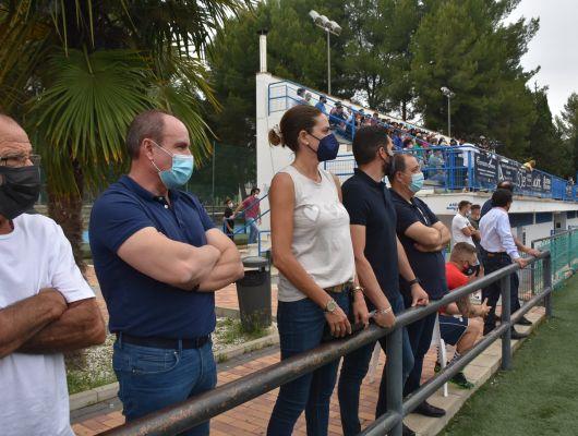 Encuentro de fútbol en Preferente del Archena Sport y Fortuna Fibranet