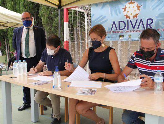 El pueblo de Archena, comprometido con la Asociación de Personas con Discapacidad 'ADIVAR'