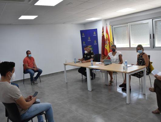 Reunión de la Comisión Municipal Anticovid19 para analizar la situación actual de la pandemia en la localidad