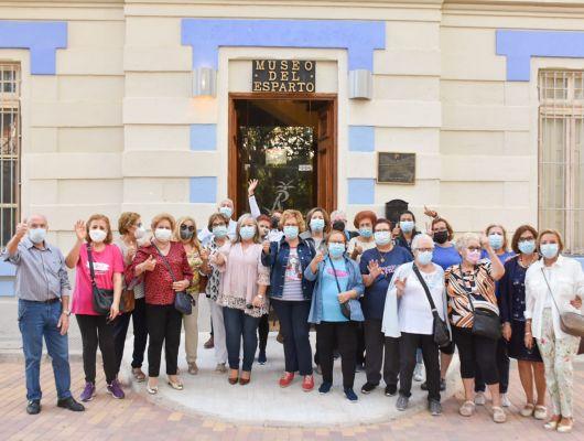 Continúa el programa cultural de los mayores con visita a los museos locales