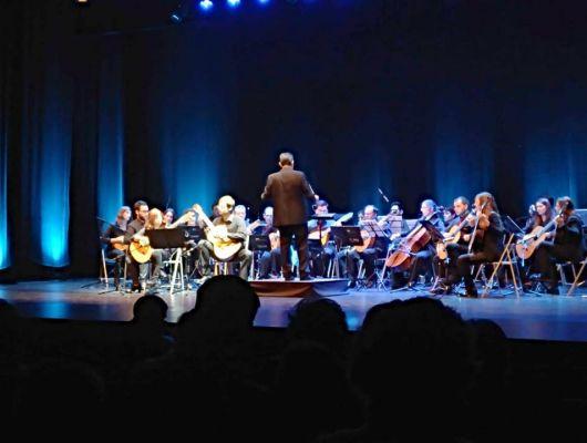 """Extraordinario concierto de  """"La Orquesta de plectro y guitarras de la Región de Murcia"""", en beneficio de la Asociación Arzheina Archena"""