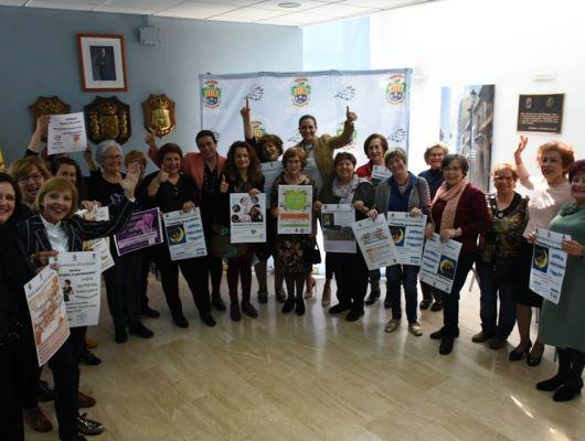 La Alcaldesa firma 7 convenios de colaboración con otras tantas asociaciones locales de mujeres