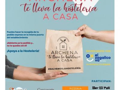 La campaña 'Archena te lleva la hosterlería a casa' ya está en marcha