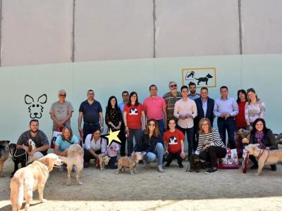 El parque canino, escenario de diversas actividades promovidas por laAsociación Animales del Valle, en colaboración con el Ayuntamiento