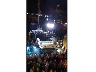 Vídeo de la entrega de la Sardina a la ciudad de Murcia