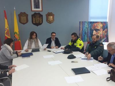 Reunión de la Junta Local de Seguridad para establecer un plan de actuación con motivo de lasfiestasde Navidad