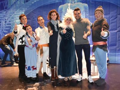 El Teatro Villa de Archena, se llena de ilusión con la magia de los protagonistas del musical de Frozen