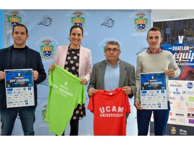 Presentada la V edición del Campeonato Regional de Duatlón por equipos