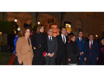 La Alcaldesa y el Concejal de Presidencia representan a Archena en la IV Gala Presentación Gran Pez y Doña Sardina 2020