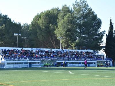 La Alcaldesa y el Concejal de Deportes asisten al partido entre el Archena FC  y el A.D.M. Lorquí de la Liga Nacional Juvenil