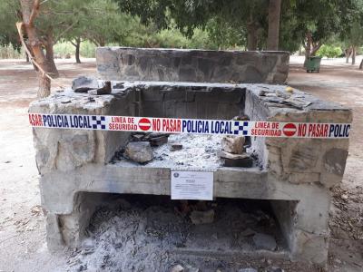 Información de la Policía Local de Archena en prevención de incendios forestales