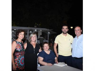 Música, baile y gran participación en la primera noche de las fiestas del Carmen