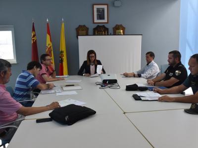 Reunión de la Junta Local de Seguridad para establecer un plan de actuación con motivo de lasfiestaspatronales del Corpus y Virgen de la Salud