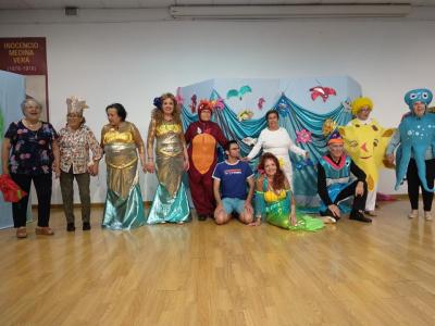 El salón de actos del Centro Cultural se llenó para ver la representación del Centro dePersonas MayoresdelIMAS