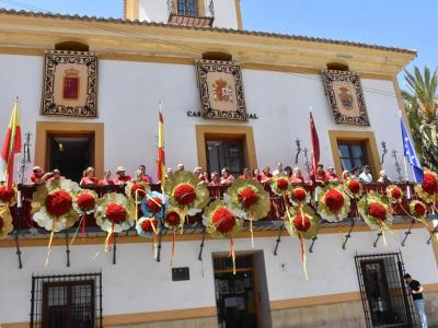 Durante la mañana de hoy y desde el balcón principal del Ayuntamiento, se ha inaugurado la