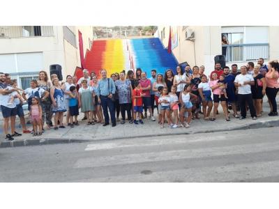 Proyecto de participación comunitaria través del Arte, en el barrio de viviendas sociales de Las Arboledas