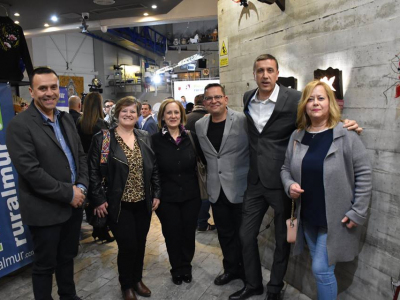 La empresa 'Embutidos La Cañada', de La Algaida, premiada por la Asociación RuralMur, en reconocimiento a sus 40 años de trabajo artesanal