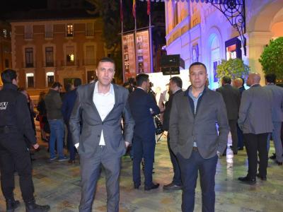 Celebrada en el Teatro Romea de Murcia la gala por el 40 Aniversario del Trasvase Tajo-Segura, con la asistencia de los concejales Antonio José Palazón y Andrés Luna