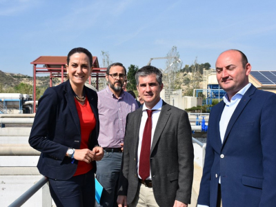 La alcaldesa anuncia la inminente adjudicación de las obras del nuevo colectorde la avenida Río Segura