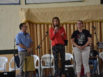 Se celebra en Archena la Asamblea Diocesana del movimiento Renovación Carismática de España, con la asistencia de más de 600 personas