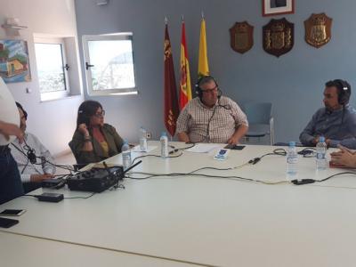Onda Regional de Murcia emite en directo, desde Archena, su programa matinal 'Viva la Radio'