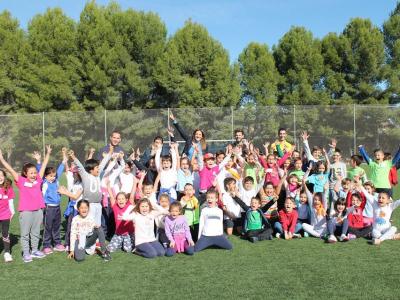 Más de 400 escolares de Archena se dan cita en las 'Jornadas de la Salud 2019', organizadas por Archena Deportes