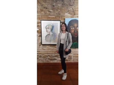 La archenera, María López Aramendía, de 15 años, seleccionada para el Certamen de Creación Artística JovenCREARTE2019