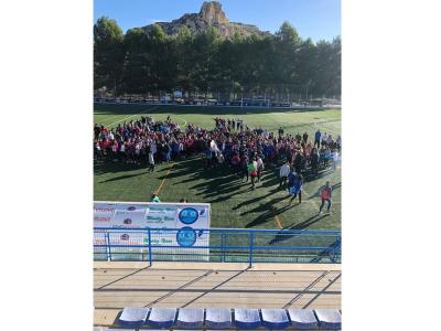 Unos 400 alumnos de 1º y 2º de ESO de Archena han participado hoy en las Jornadas Escolares de laSalud