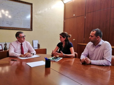 La alcaldesa de Archena reivindica a la CHS la reparación y conservación del Río Segura a su paso por el municipio
