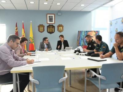 La Alcaldesa pide al Delegado del Gobierno que de forma urgente reponga la plantilla de la Guardia Civil con más agentes
