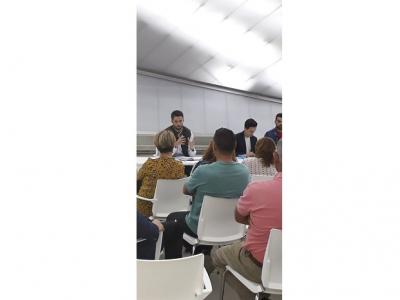 Reunión de Concejales del Equipo de Gobierno con empresarios locales para tratar asuntos de la actualidad económica de Archena