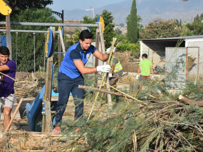 Más de un centenar devoluntarios han participado en la segunda jornada del Plan Municipal de Voluntariado deArchena