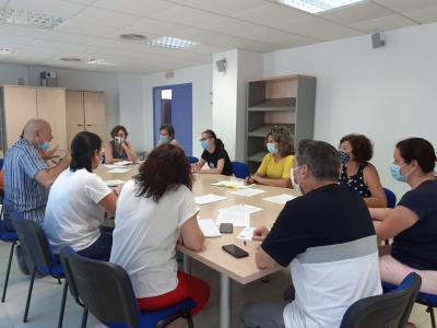 II Plan municipal de Igualdad. Reunión con las asociaciones de discapacitados físicos y psíquicos