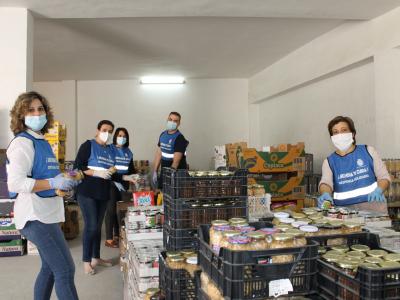 Más de 1.800 familias atendidas y unos 50.000 kilos de alimentos obtenidos son los principales datos de la Despensa Municipal Solidaria