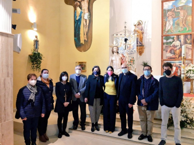 El Resucitado puso fin al programa especial de la Semana Santa de Archena